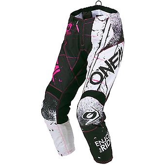 ONeal Pink 2019 Element Shred Womens MX Pant