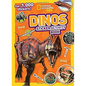 Dinos Sticker Activity Book