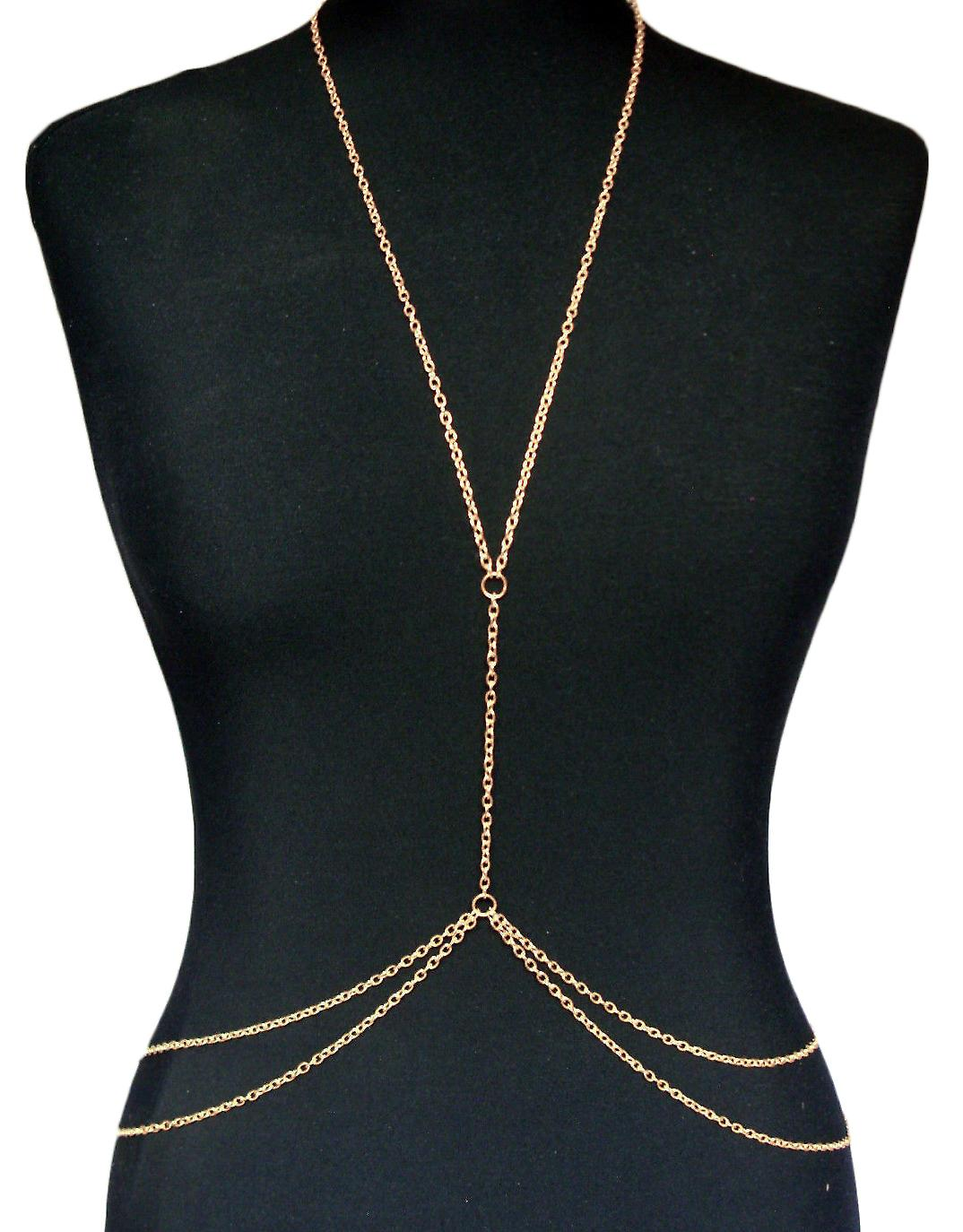 Waooh - Body Jewelry gold chain Ninou