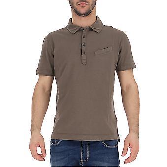 C.p. Company Grey Cotton Polo Shirt