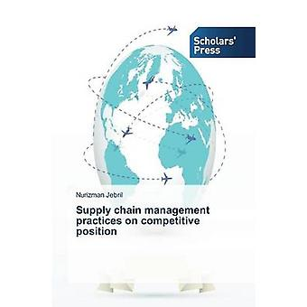 Supply chain management practices on competitive position by Jebril Nurizman