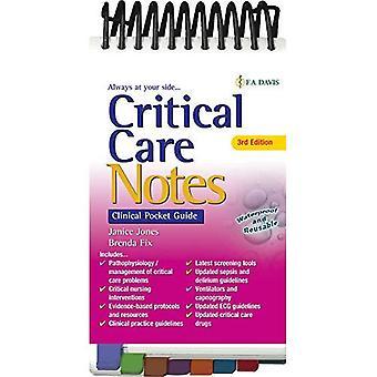 Critical Care Notes 3e: Clinical Pocket Guide