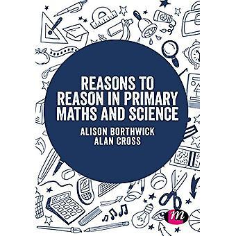 Razones a la razón en matemáticas primaria y de la ciencia por razones la razón