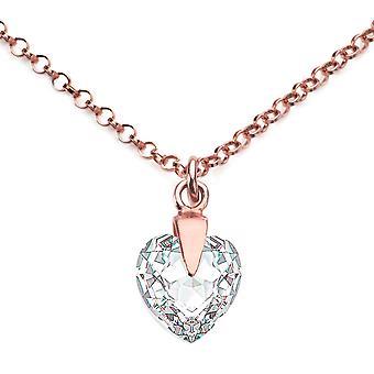 Ah smycken rensa hjärta kristall från Swarovski