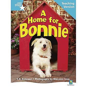 Ett hem för Bonnie: turkos nivå facklitteratur (Rigby stjärna guidad)