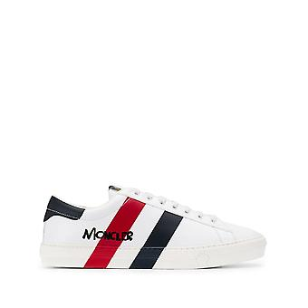 Moncler Montpellier White Leather Sneakers