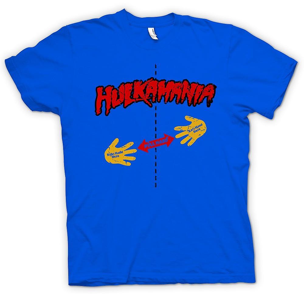 Herr T-shirt-Hulk Mania - Rip skjorta - Pull här