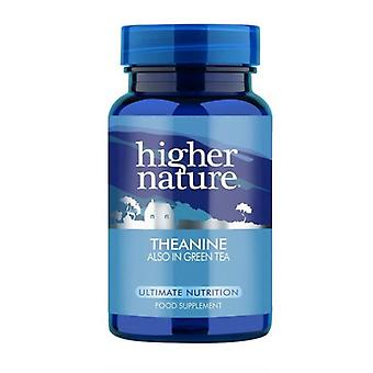 Higher Nature Theanine Vegetable Capsules 90