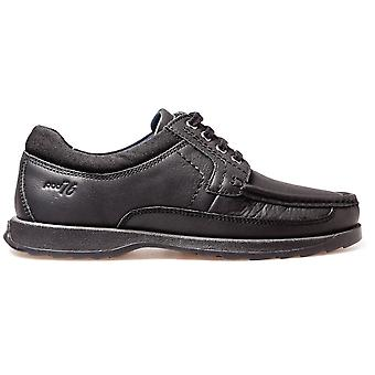 POD Boys Rally Lace School Chaussures noir