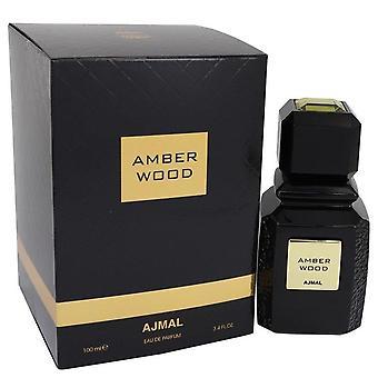 Ajmal Amber Wood Eau De Parfum Spray (Unisex) By Ajmal 100 ml