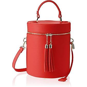 Chicca Bags 8638 dames schoudertas rood (rood) 20x24x20 cm (b x H x L)