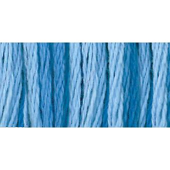 DMC Color Variationen sechs Strand Embroidery Floss 8.7 Yards Kristallwasser 417F 4230