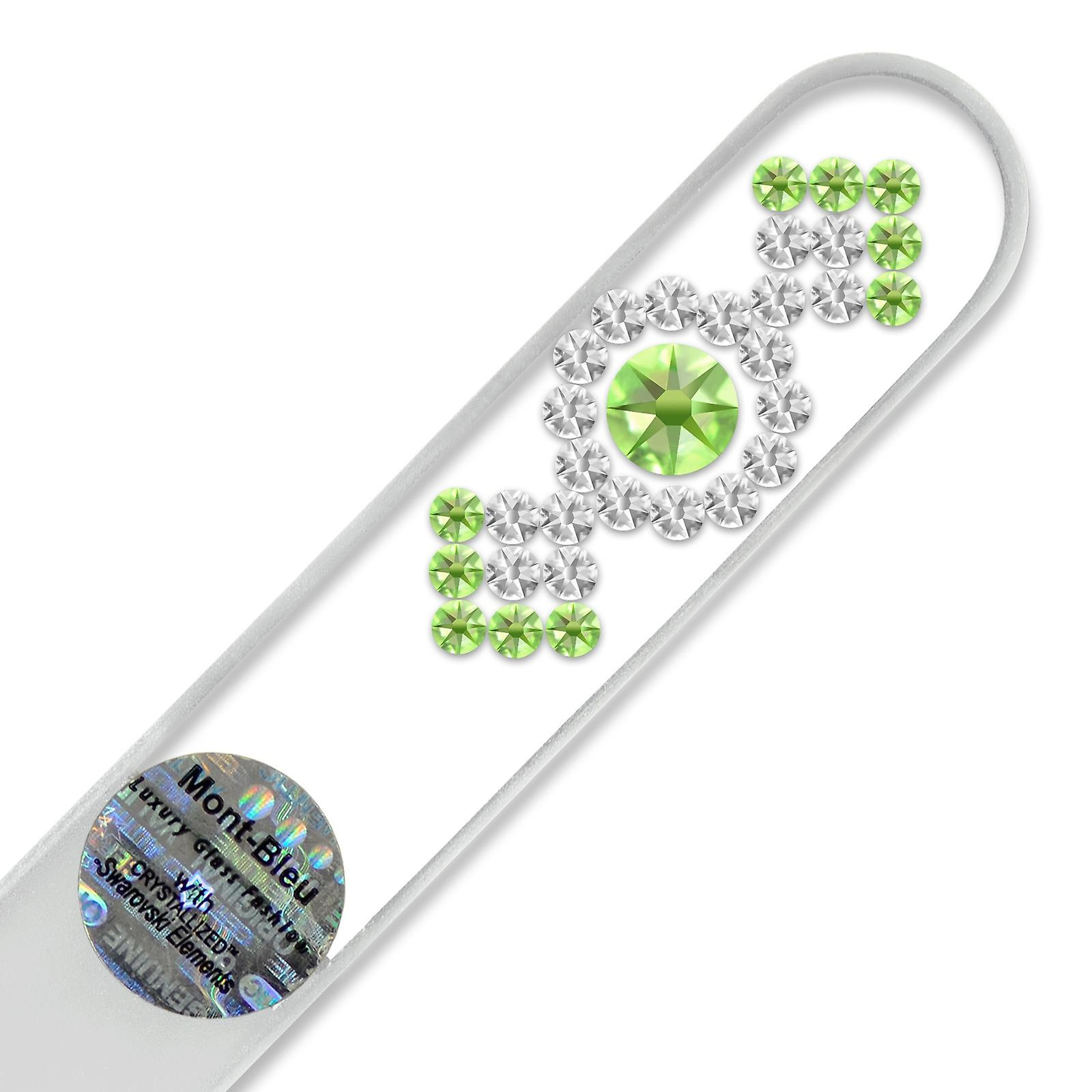 Mont Bleu Ornament Crystal Nail File LE-3