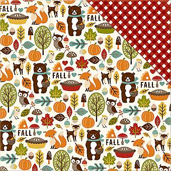 Fall Is In The Air Double-Sided Cardstock 12