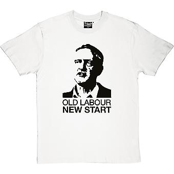 Jeremy Corbyn: Old Labour, New Start Men's T-Shirt