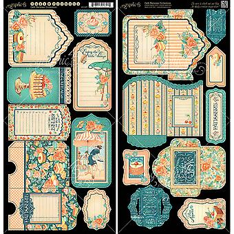 Cafe Parisian Cardstock Die-Cuts 6