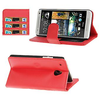 Cell phone cover case voor mobiel HTC one mini M4 Red