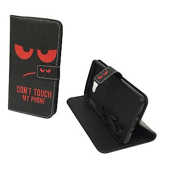 Mobile phone case pouch for mobile Samsung Galaxy J7 2016 dont touch my phone Red