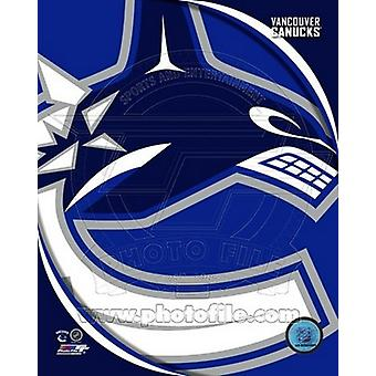 Vancouver Canucks 2011 Team Logo Sports Photo