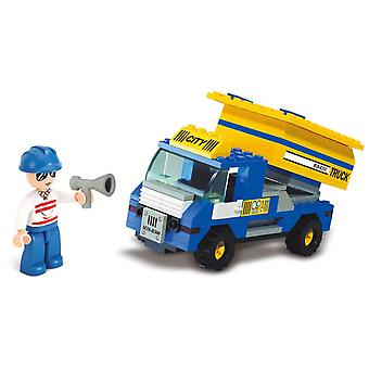 Sluban Town Garbage Truck (Toys , Constructions , Vehicles)