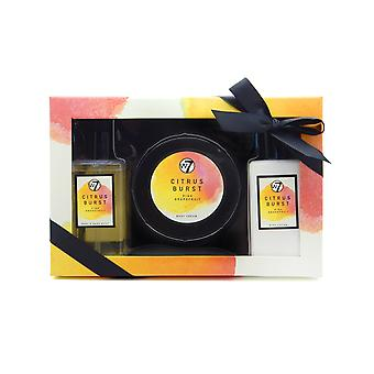 W7 Citrus Burst Pink Grapefruit Bath & Body Gift Set