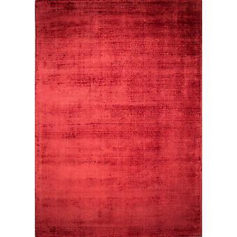 Moderne luksus rød Viscose tæppe - glans