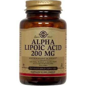 Solgar - Alpha Lipoic Acid 200mg 50VCaps