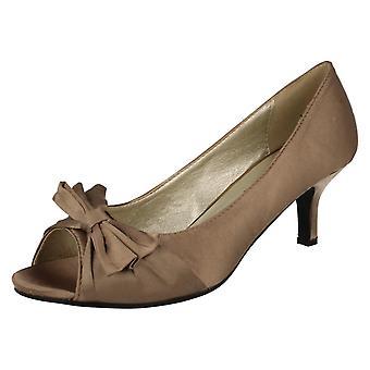 Ladies Anne Michelle Occasion Wear Peep Toes L2944