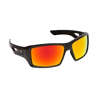 New SEEK Polarized Replacement Lenses for Oakley EYEPATCH 2 Black Yellow Mirror