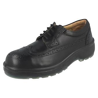 Mens ZX Brogue Style Safety Shoes 1008