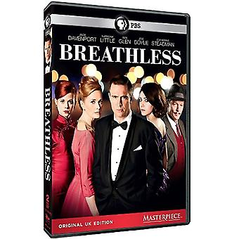 Masterpiece: Breathless [DVD] USA import