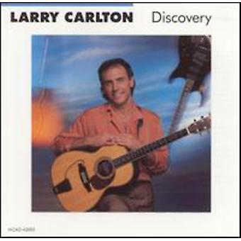 Larry Carlton - upptäckten [CD] USA import