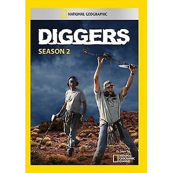 Diggers Season 2 [DVD] USA import