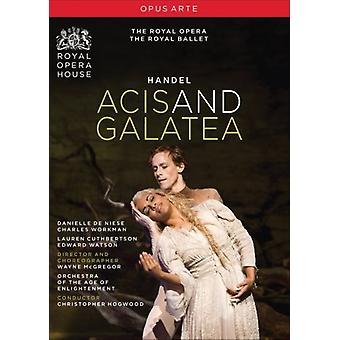 G.F. Händel - Acis & Galatea [DVD] USA import