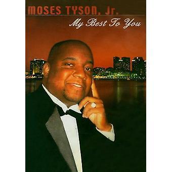 Moses Tyson - mit bedste til dig [DVD] USA Importer
