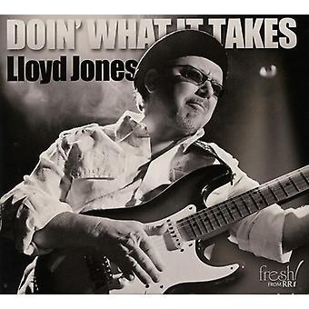 Lloyd Jones - Doin' What It Takes [CD] USA import