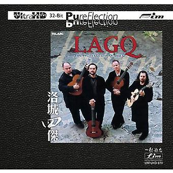 Los Angeles Guitar Quartet - Lagq Latin [CD] USA importerer
