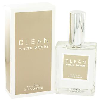 Clean Women Clean White Woods Eau De Parfum Spray (Unisex) By Clean