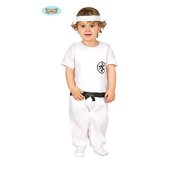 Kung Fu fighter karate Kungfukostüm baby costume