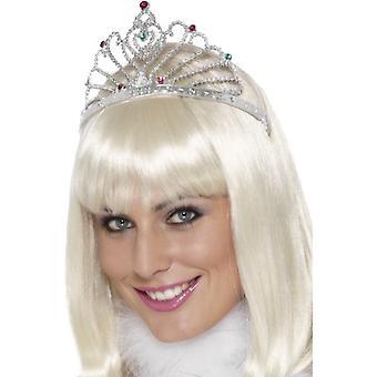 Ventilator ontwerp zilveren tiara