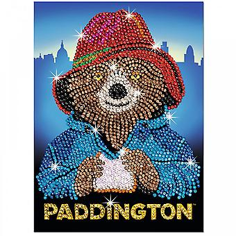 KSG Paddington Bear SequinArt