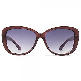 Carvela Small Glamour Sunglasses In Tortoiseshell