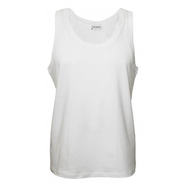 Dolce & Gabbana daglig Bi-Pack Vest topp, hvitt