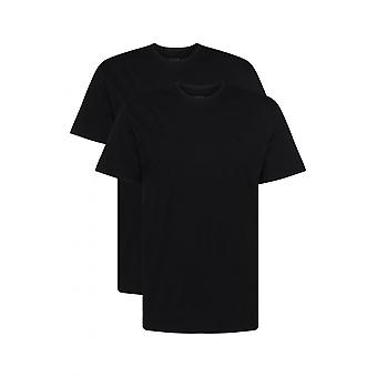 Hugo Boss 2-Pack Relaxed-Fit Crew-Neck T-Shirts, Black