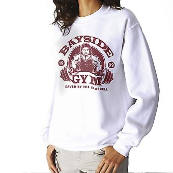 Bayside Gym Saved By The Bell A C Slater Women's Sweatshirt