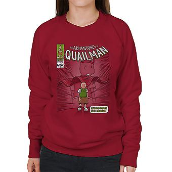 Quailman ikke mere Doug Comic superhelte kvinders Sweatshirt