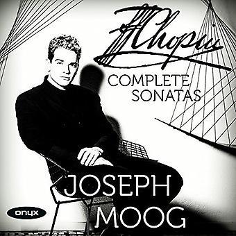 Chopin / Joseph Moog - Chopin / Joseph Moog: komplet klaver sonater [CD] USA import