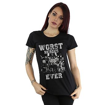 Suicide Squad Women's Worst Heroes Ever T-Shirt