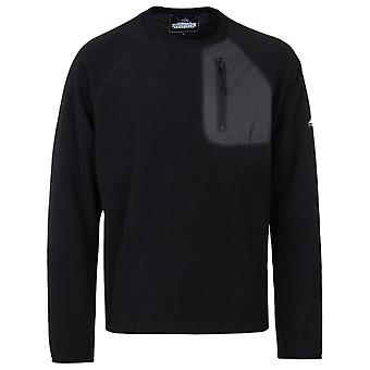 Penfield Carney Black Fleece Sweatshirt