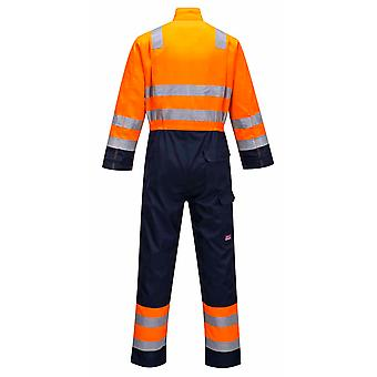Portwest - Modaflame RIS Hi-Vis Safety Workwear Coverall Boilersuit
